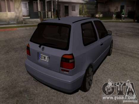 Volkswagen Golf 3 VR6 for GTA San Andreas left view