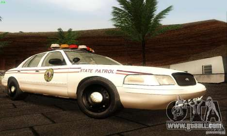 Ford Crown Victoria North Dakota Police for GTA San Andreas