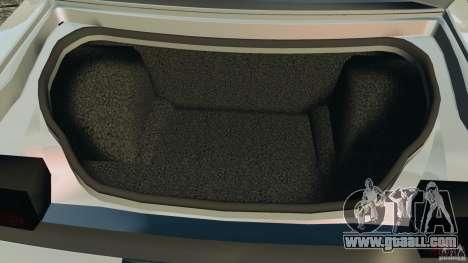 Dodge Challenger SRT8 392 2012 for GTA 4 bottom view