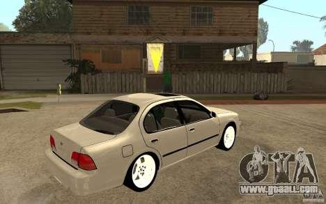 Nissan Maxima 1998 for GTA San Andreas right view