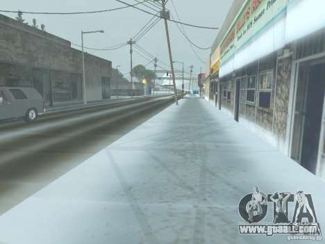 Winter for GTA San Andreas forth screenshot