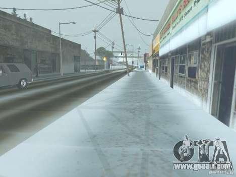 Winter for GTA San Andreas forth screenshot