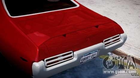 Pontiac GTO 1965 v1.1 for GTA 4 bottom view