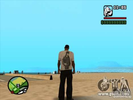 T-shirt MOVIES for GTA San Andreas