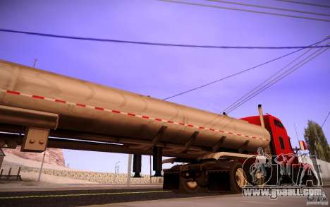 Kenworth T600 for GTA San Andreas side view
