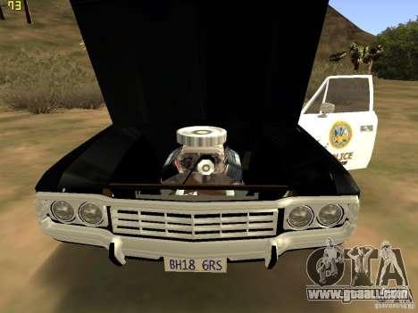AMC Matador SA Police 1971 Final for GTA San Andreas right view