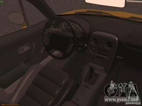 Mazda MX-5 1997 for GTA San Andreas inner view