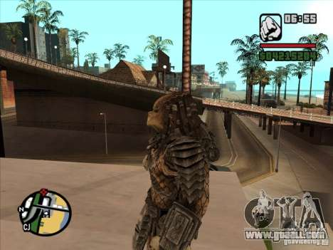 Predator Predator for GTA San Andreas second screenshot