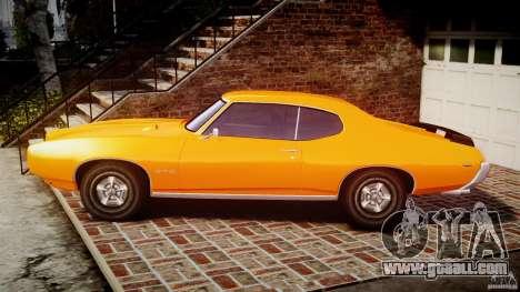Pontiac GTO Judge for GTA 4 left view