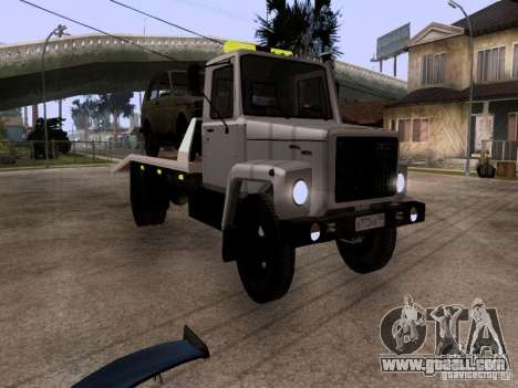 GAZ 3309 tow truck for GTA San Andreas left view