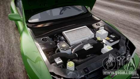 Subaru Impreza 22b 1998 (final) for GTA 4 upper view