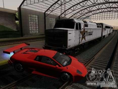 Crazy Trains MOD for GTA San Andreas second screenshot