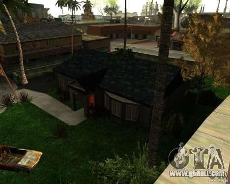 New Ryder House for GTA San Andreas third screenshot
