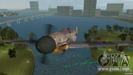 WW2 War Bomber for GTA Vice City right view