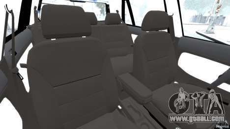 Volkswagen Golf Sportline 2011 for GTA 4 inner view