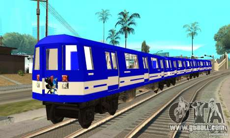 Liberty City Train Sonic for GTA San Andreas