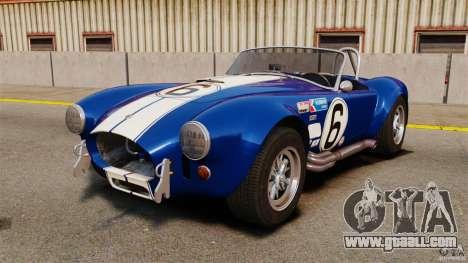 AC Cobra 427 for GTA 4