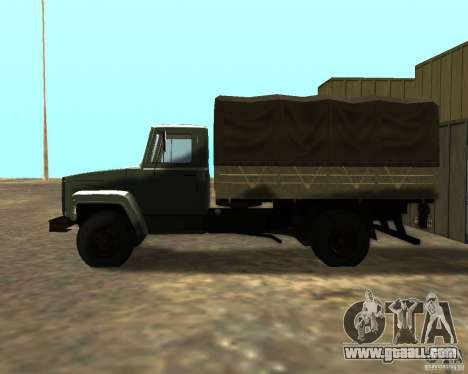 GAZ 3309 for GTA San Andreas back left view