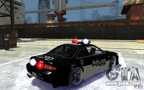 Nissan 200SX Police v0.2 for GTA 4 right view