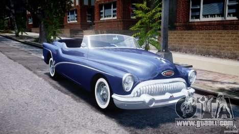 Buick Skylark Convertible 1953 v1.0 for GTA 4 side view