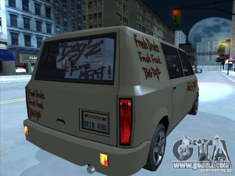 Hot Dog Moonbeam for GTA San Andreas right view