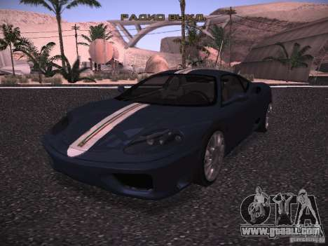 Ferrari 360 Modena for GTA San Andreas upper view