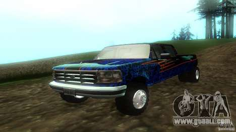 Ford F350 1992 for GTA San Andreas