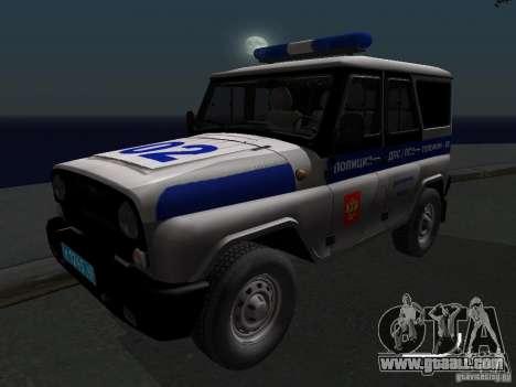 UAZ-315195 Hunter Police for GTA San Andreas