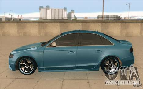 Audi S4 2009 for GTA San Andreas left view
