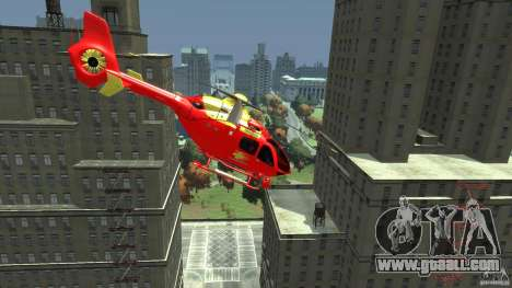 Medicopter 117 for GTA 4 back left view