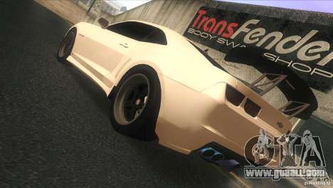 Chevrolet Camaro SS Dr Pepper Edition for GTA San Andreas right view
