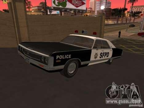 Chrysler New Yorker Police 1971 for GTA San Andreas