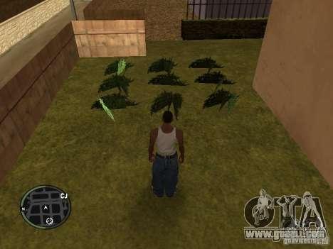 Marijuana v2 for GTA San Andreas fifth screenshot
