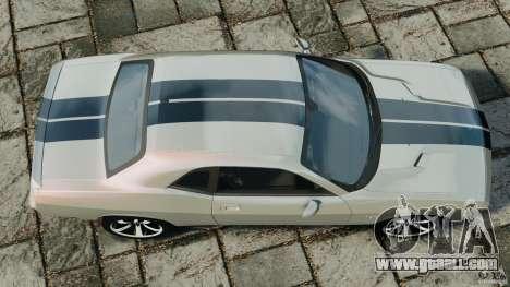 Dodge Challenger SRT8 392 2012 for GTA 4 right view