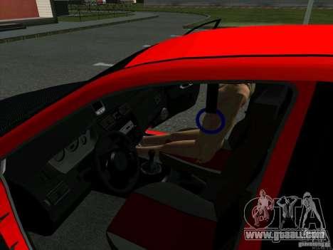 Mitsubishi Lancer Drift for GTA San Andreas back view
