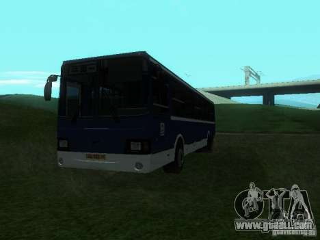 LIAZ 5256-26 for GTA San Andreas right view