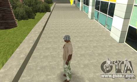 Camouflage pants for GTA San Andreas second screenshot