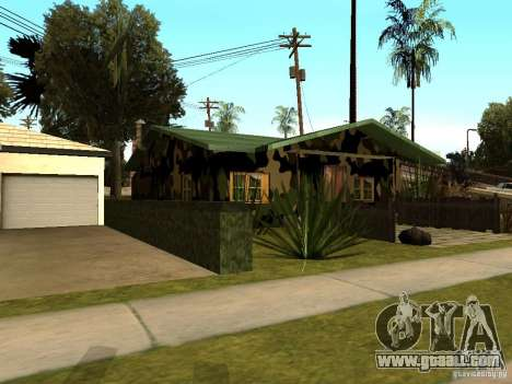 New House of Denis for GTA San Andreas third screenshot