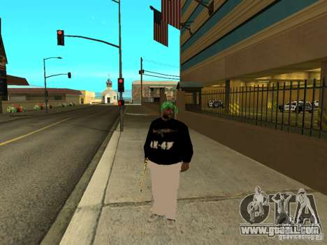 New thick Groove for GTA San Andreas