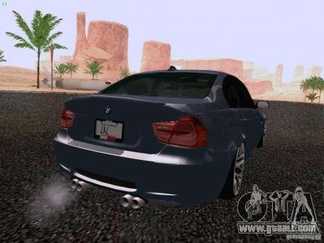 BMW M3 E90 Sedan 2009 for GTA San Andreas left view