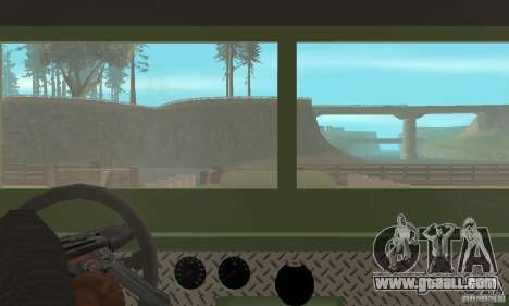 Jeep Willys Rock Crawler for GTA San Andreas side view
