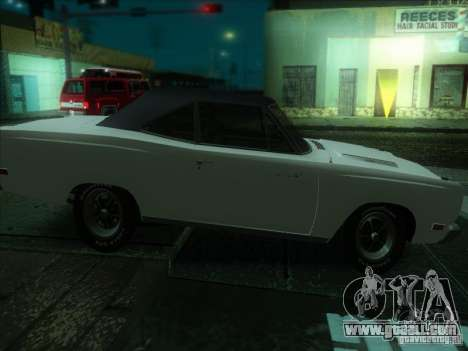 Plymouth Roadrunner 440 for GTA San Andreas back left view