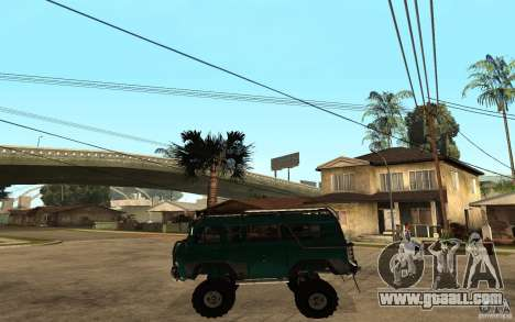 UAZ loaf of hard off-road for GTA San Andreas left view