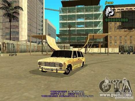VAZ 2102 Gold for GTA San Andreas