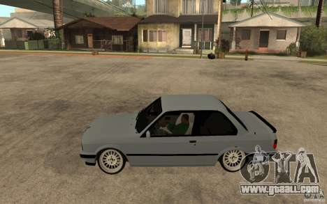 BMW E30 CebeL Tuning for GTA San Andreas left view