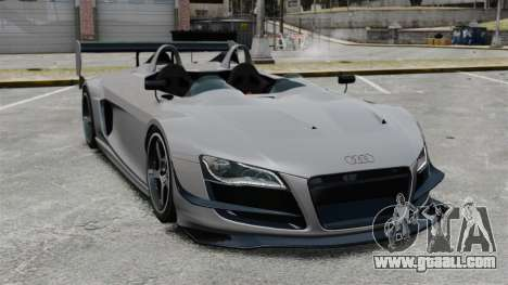 Audi R8 Spider Body Kit Final for GTA 4