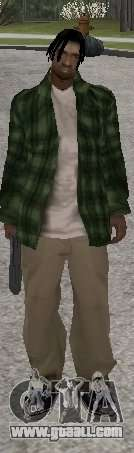 New skins Grove Street for GTA San Andreas third screenshot