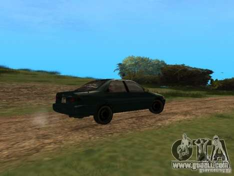Toyota Camry Arabian Tuning for GTA San Andreas back left view