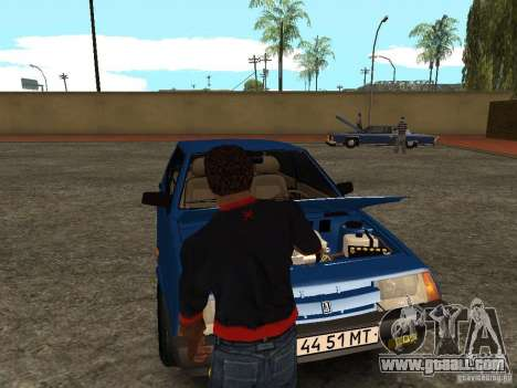 Open the trunk and hood manually for GTA San Andreas