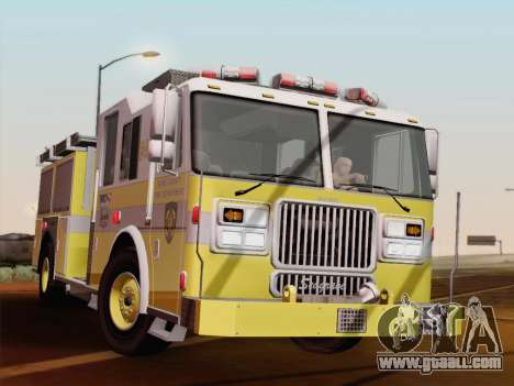 Seagrave Marauder II BCFD Engine 44 for GTA San Andreas